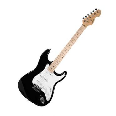 Guitarra Michael Stratocaster Advanced Gm227mba Preta