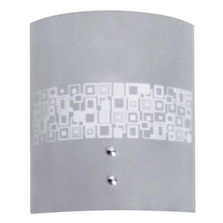Arandela Attena Iluminação Calha Silk Mosaico Branco - 1313/ar