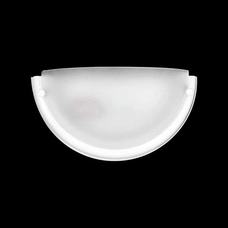 Arandela Auremar Meia Lua Branco - 3155bc