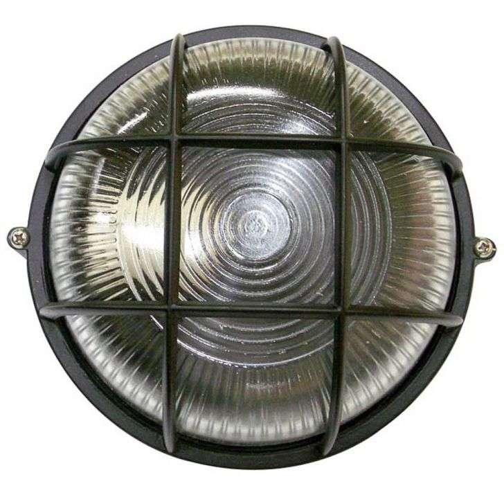 Arandela Home Line Tartaruga Circular Alumínio