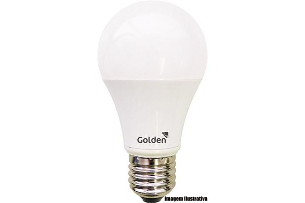Lâmpada Golden Led A60 Leitosa 12w 3000k Bivolt - 3764