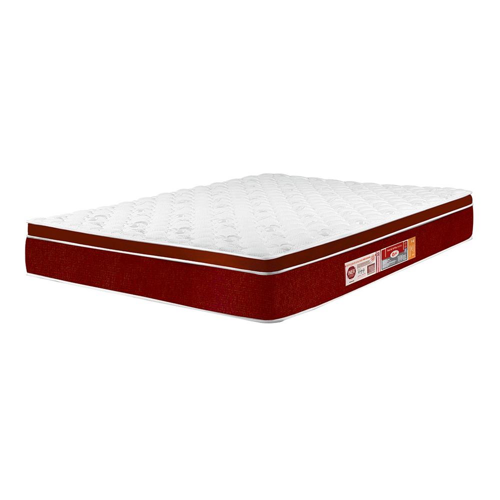 Colchão Castor Red & White 120x203x23cm D33 Solteiro