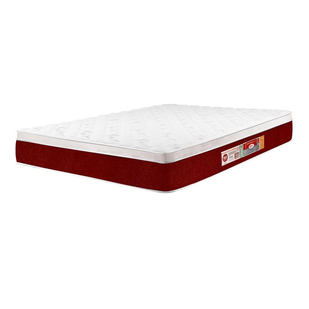 Colchão Castor Red & White 88x188x23cm D45 Solteiro
