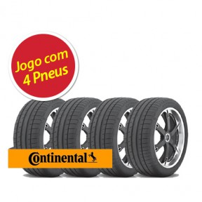Pneu Continental Extremecontact Dw 205/55 R16 91w - 4 Unidades