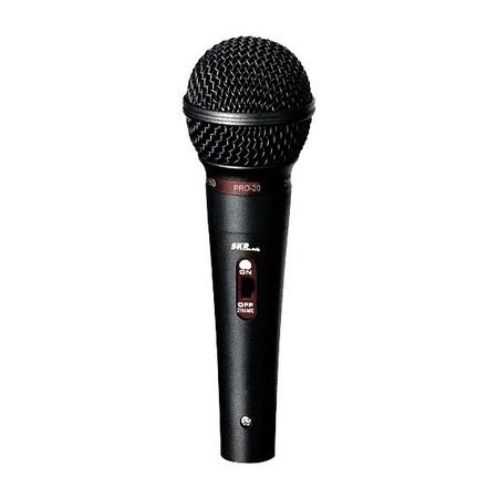 Microfone Profissional Unidirecional Pro 20 43712 Skp Pro Audio