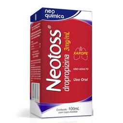 Neotoss 3mg Xpe Fr 100ml Adu - Dropopizina - Neo Quimica