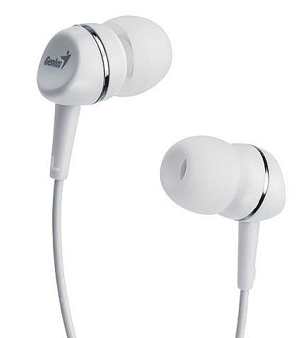 Fone de Ouvido Intra-auricular Branco Genius Ghp200a