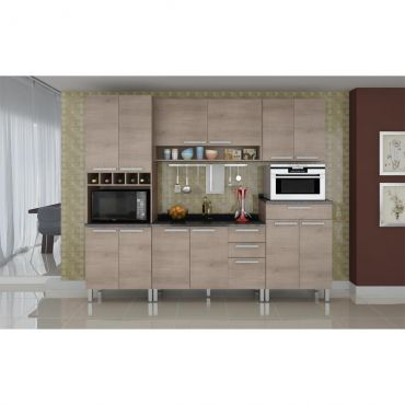 Cozinha Completa Nesher Monalisa 13 Portas 3 Gavetas