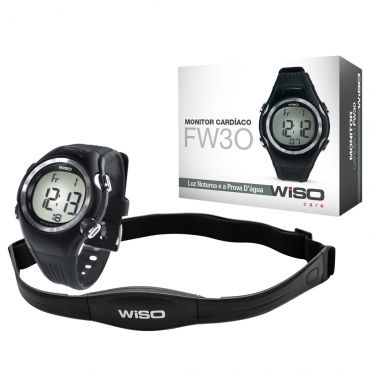 Monitor Cardíaco Relógio Com Cinta Wiso - Fw30