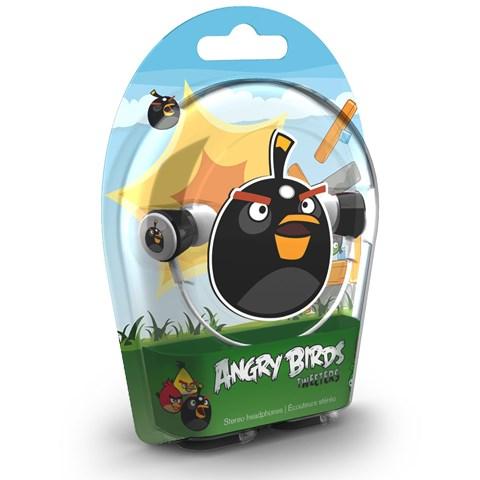 Fone de Ouvido Intra-auricular Angrybirds Bomb Bird Gear4 Hab004g