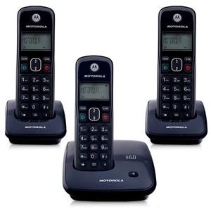 Telefone Sem Fio Motorola Auri 2000 Mrd3 Com Id Preto