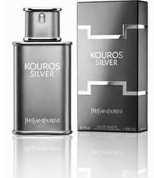 Perfume Kouros Silver Yves Saint Laurent Eau de Toilette Masculino 50 Ml