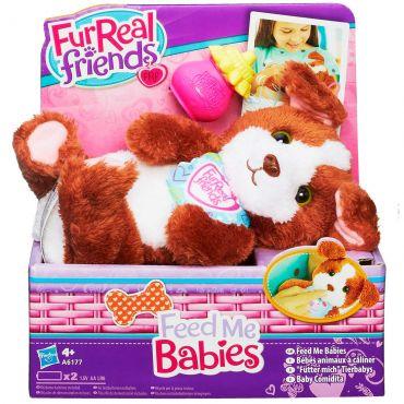 Pelúcia Cachorrinho Feed Me Babies Furreal Friends Hasbro
