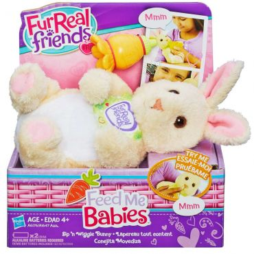 Pelúcia Cachorrinho Feed Me Babies Furreal Friends Hasbro