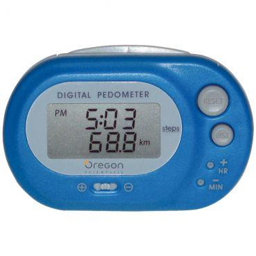 Pedômetro Básico Azul Pe320 Oregon
