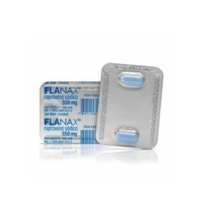 Flanax 550mg Cx 10 Comp - Naproxeno de Sodio - Bayer