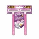 Bic World Aparelho de Depilação Comfort 2 2 Unidades