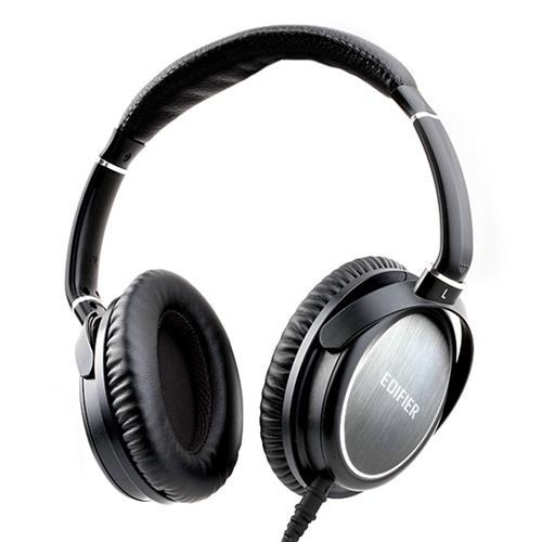 Fone de Ouvido Headphone Com Adaptador Preto Edifier H850
