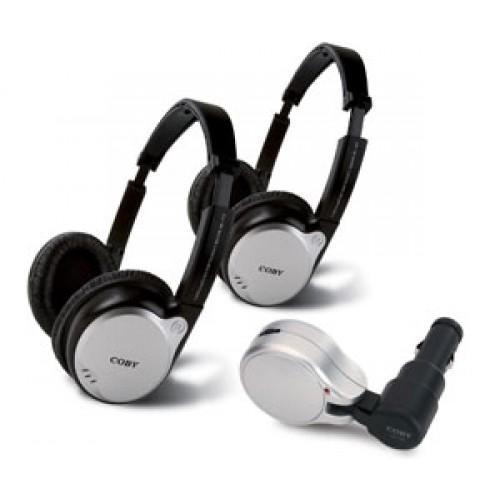 Fone de Ouvido Headphone Kit 2 Unid Coby Cv870