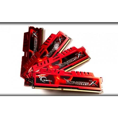 Memória Ram Ripjaws X 32gb Kit(4x8gb) Ddr3 1600mhz F3-12800cl10q-32gbxl G.skill