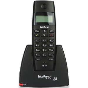 Telefone Sem Fio Intelbras Ts40id Com Id Preto