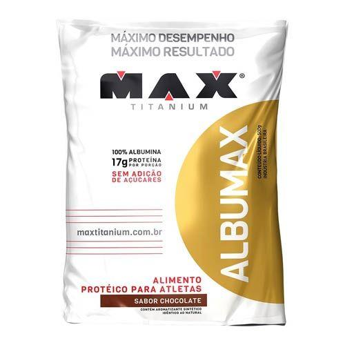 Albumax 500g Chocolate - Refil Max Titanium