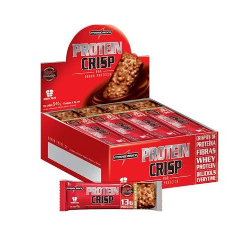 Protein Crisp Amendoim - 12 Unidades Integralmedica