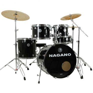 Bateria Acústica Nagano Garage Fusion Preta