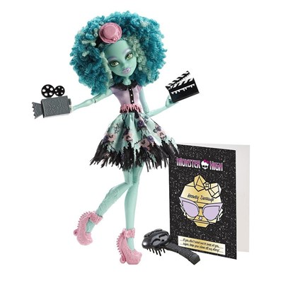 Monster High Mattel Monstros, Câmera, Ação - Honey Swamp