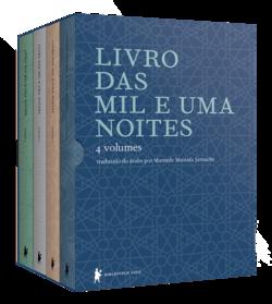 Livro das Mil e uma Noites - Caixa Com 4 Volumes