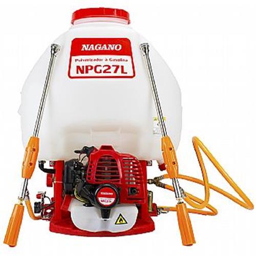 Pulverizador Gasolina Branco/vermelho Nagano Npg27l