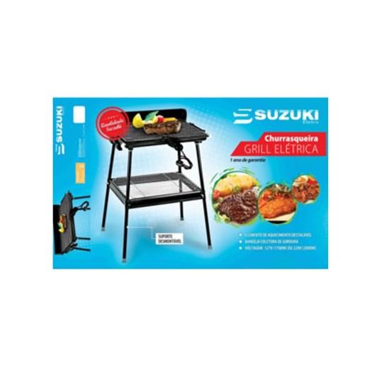 Churrasqueira Suzuki Eletro Elétrica Grill 220v - Sz-2228-1