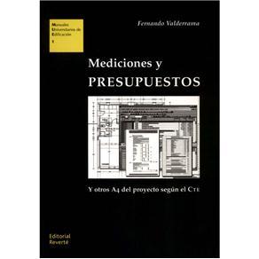Estudios Universitarios de Arquitectura - Mediciones Y Presupuestos Y Otros A4 Del Proyecto Según El Cte - Volume 01