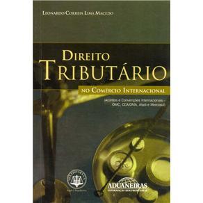 Direito Tributario no Comercio Internacional