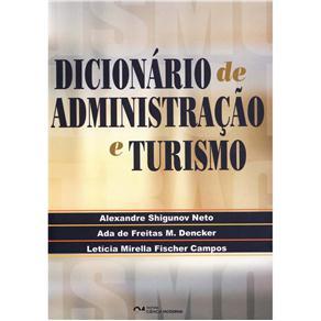 Dicionario de Administracao e Turismo