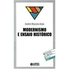 Modernismo e Ensaio Historico