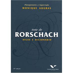 Teste de Rorschach - Atlas e Dic.