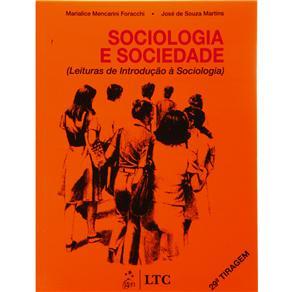 Sociologia e Sociedade - Leituras de Introdução a Sociologia