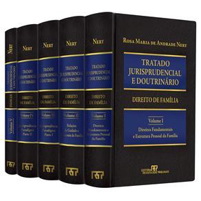 Tratado Jurisprudencial e Doutrinário: Direito de Família: Coleção Completa 5 Volumes