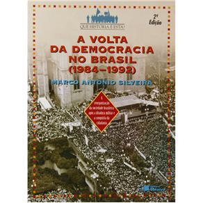 Volta da Democracia no Brasil ( 1984-1992 ), A
