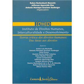Idhid: Instituto de Direitos Humanos, Interculturalidade e Desenvolvimento