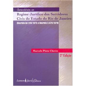 Comentarios ao Regime Juridico dos Servidores Civis do Estado do Rio de Jan