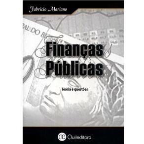 Finanças Públicas: Teoria e Questões