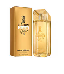 Perfume 1 Million Cologne Paco Rabanne Eau de Toilette Masculino 125 Ml