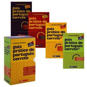 Caixa Especial: Guia Prático do Português Correto - 4 Volumes - Cláudio Moreno
