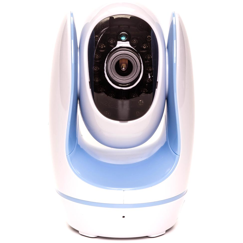 Babá Eletronica Foscam Fosbaby Azul Com Câmera e Monitor