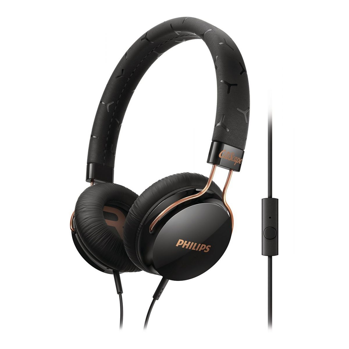 Fone de Ouvido Headphone Com Microfone Citiscape Fixie Philips Shl5305bk00