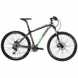 Bicicleta Mormaii Challenge T19 Aro 27,5 Susp. Dianteira 20 Marchas - Preto/verde