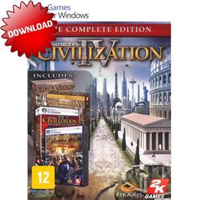 Jogo Sid Meiers Civilization Iv: The Complete Edition 2k Games - Pc