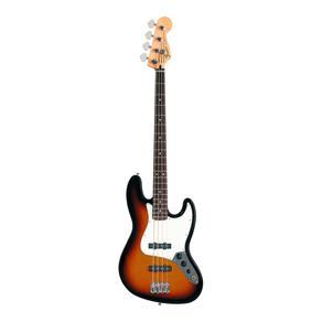 Baixo Elétrico Standard Jazz Bass Fender Sunburst 4 Cordas